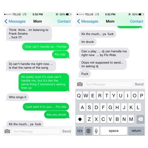 hilarious drunk texts page   hollywood gossip