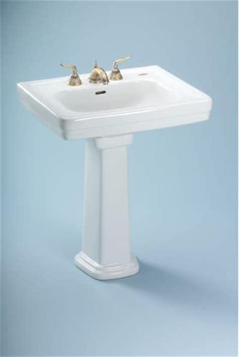 Toto Promenade Pedestal Bathroom Sink by Bathroom Pedestal Sinks