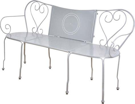 Banc De Jardin Convertible En Table + Chaises Classique