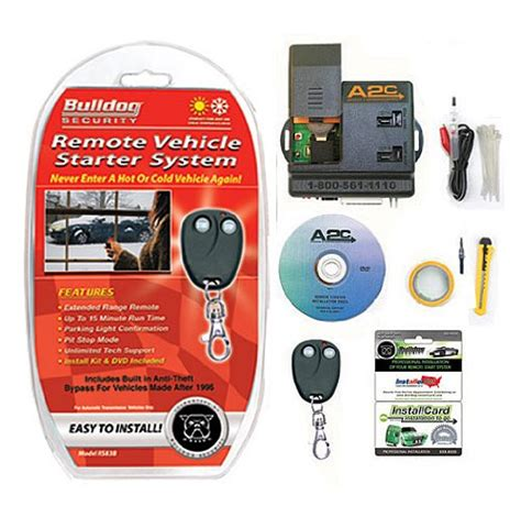 Bulldog Security Rsb Remote Starter With Built Bypass