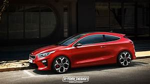 Kia Ceed Sport : kia proceed rendered as a slightly more exciting south korean hatchback autoevolution ~ Maxctalentgroup.com Avis de Voitures