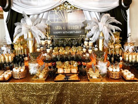 Great Gatsby Candy Buffet Candy Buffet Ideas Pinterest