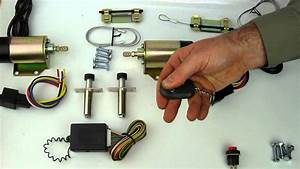 45 Lb Shaved Handle Door Popper Kit With 2 Remotes