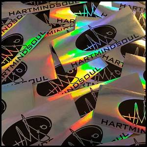 buy custom holographic stickers hms nation hart mind soul With custom sticker shop near me