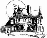 Haunted Coloring Pages Halloween Drawing Doo Cartoon Houses Scooby Drawings Mansion Printable Adult Sheets Draw Colouring Bing Characters Google Print sketch template
