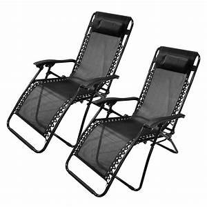 Zero, Gravity, Recliner, Garden, Chair, Folding, Camping, Sun, Lounger