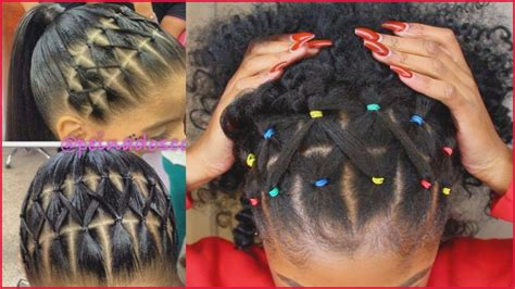 Rubber Band Hairstyles For by Hairstyles For Hair With Rubber Bands The