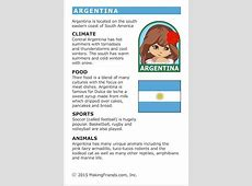Facts about Argentina Girl Scouts Argentina facts