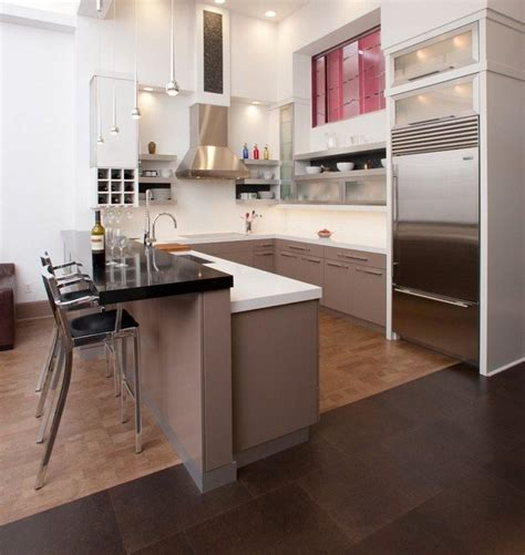cuisine ouverte en l cuisine en u ouverte pour tout espace 60 photos et conseils