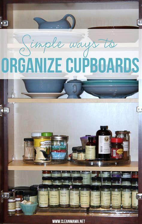 organizing kitchen cupboards simple ways to organize kitchen cupboards clean 1266