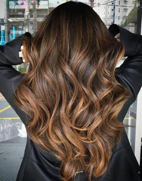 balayage hair color ideas  brunettes