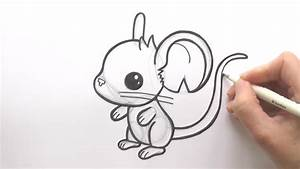 How to Draw a Cartoon Mouse From Transformice - zooshii ...