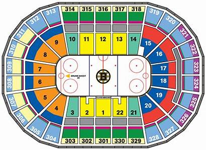 Garden Bruins Boston Map Seating Td Plan