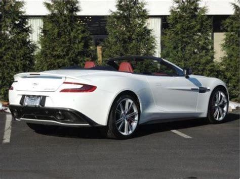 Purchase New 2014 Aston Martin Vanquish Volante