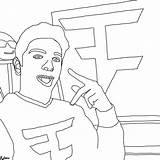 Faze Rug Coloring Drawing Pages Getdrawings Getcolorings sketch template