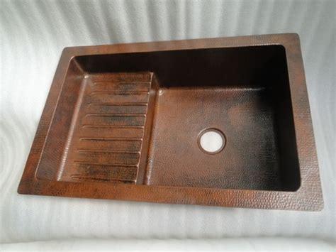 drain boards for kitchen sinks copper kitchen sink with drain board 36 quot x24 quot x10 quot drop in 8815