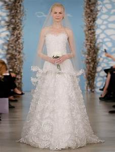 wedding dress by oscar de la renta spring 2014 bridal 19 With oscar de la renta wedding gown
