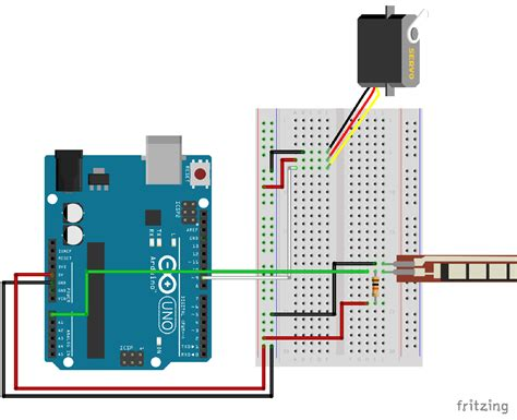 simple homemade flex sensor arduino project hub