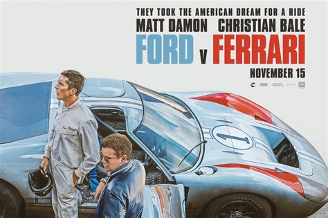 Ferrari seems to abruptly show ken miles' deadly car crash. F1i Pic of the Day: First poster for 'Ford V. Ferrari' epic revealed