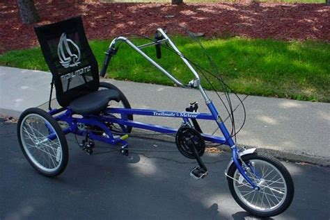 Trailmate Meteor Recumbent Trike From Industrialbicycles