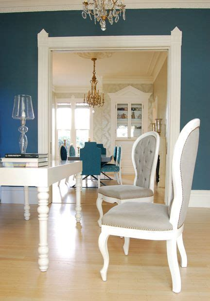 Peacock Blue Paint Colors Design Ideas