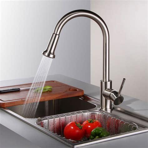 robinet cuisine solde robinet de cuisine à bec amovible en laiton fini chrome