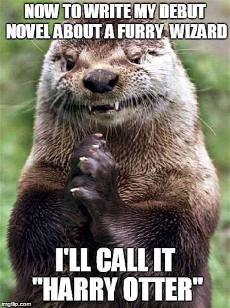 Otter Memes - evil otter meme imgflip