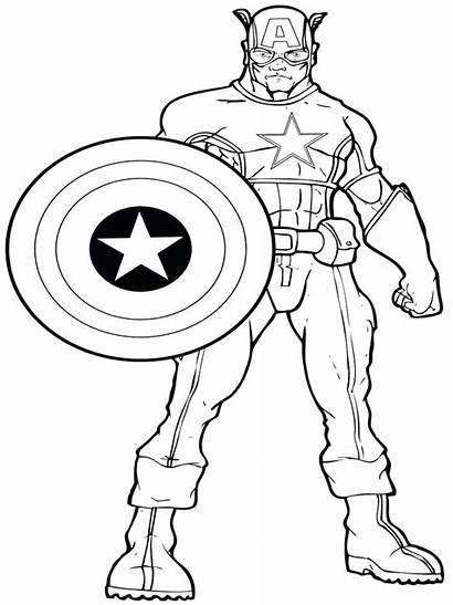 Coloring Pages Superhero Marvel Dc Super Hero