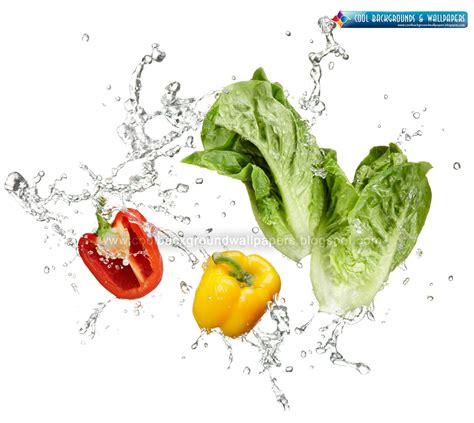 nim  vegetable water splash hd wallpapers