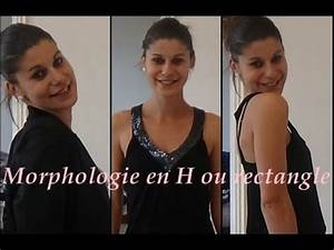 look 2 morphologie en h ou rectangle comment s39habillier With robe mariée morphologie