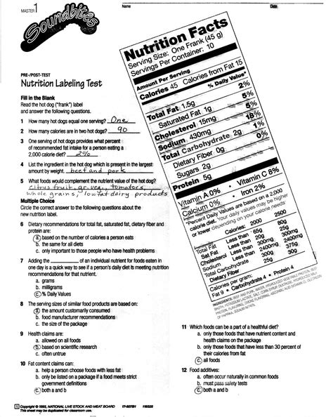 high school health worksheets with answer high best