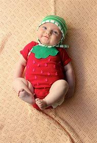 Strawberry Halloween Costume DIY