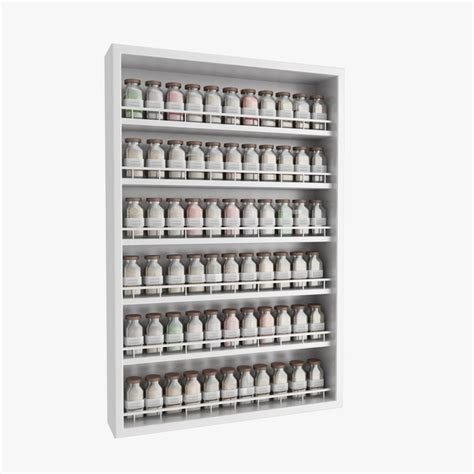 Complete Spice Rack by 3d Max Spice Rack