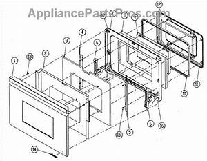 Parts For Dacor Do130  Door Assy Parts