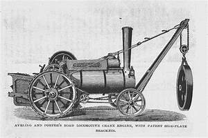 Portable Agricultural Steam Engine Exhibited by Aveling ...