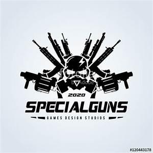 """Game logo, Skull and gas mask logo,Gun logo with skull ..."