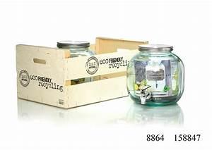 Glasgefäß Mit Zapfhahn : getr nkespender natural ritzenhoff breker ~ Orissabook.com Haus und Dekorationen