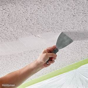 11 Tips on How to Remove Popcorn Ceiling Faster and Easier ...