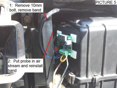 automotive air conditioning repair 1988 honda cr x transmission control ac thermostat alternative honda tech honda forum discussion