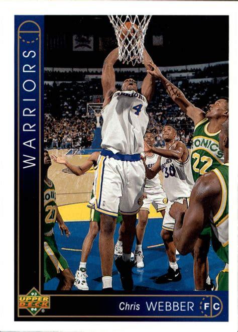 We did not find results for: 1993 94 Upper Deck 311 Chris Webber RC Rookie NM MT   eBay