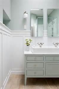 master bathroom trough sink transitional bathroom