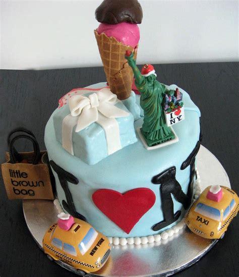 york themed cake nyc cake  york cake cake