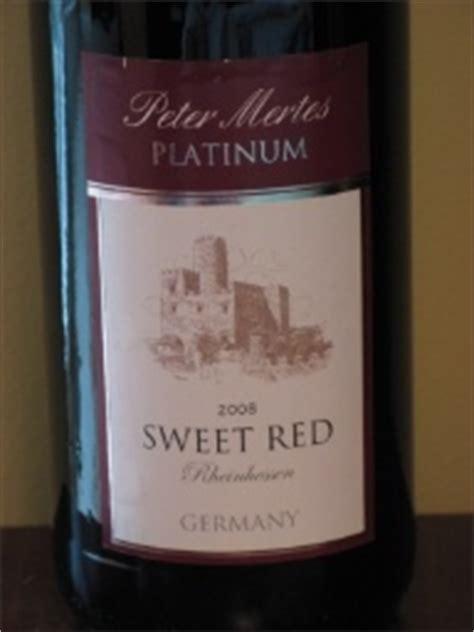 peter mertes dornfelder sweet red germany