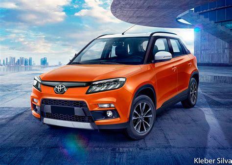 Built on a light truck drivetrain, these vehicles mix rugged. Toyota Maruti Brezza SUV render - New Urban Cruiser Front ...