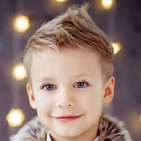 Boy Faux Hawk Hairstyle by 5 Cool Haircuts For Boys Best Boys Hairstyles For 2019