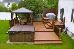 patio plus spa decks