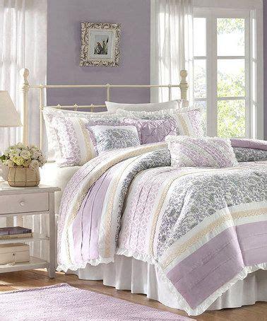 lilac sasha comforter set  jla home