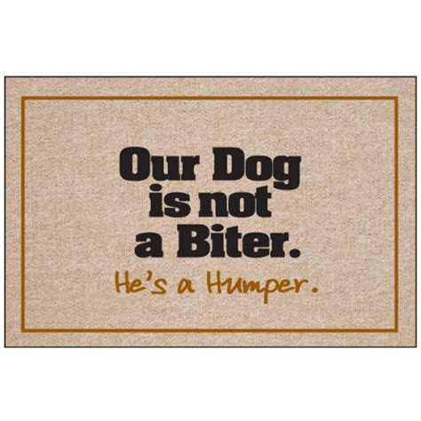 doormat for dogs our is not a biter doormat boutique gifts at