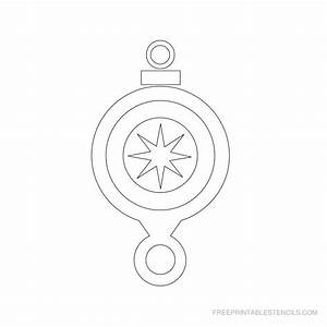 friendship tree template - free printable christmas ornament stencils free