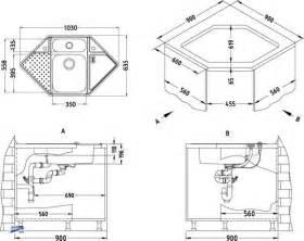küche mit eckspüle edelstahl einbauspüle vision 40 eckspüle spüle für eckschrank 90x90cm 1085965 ebay